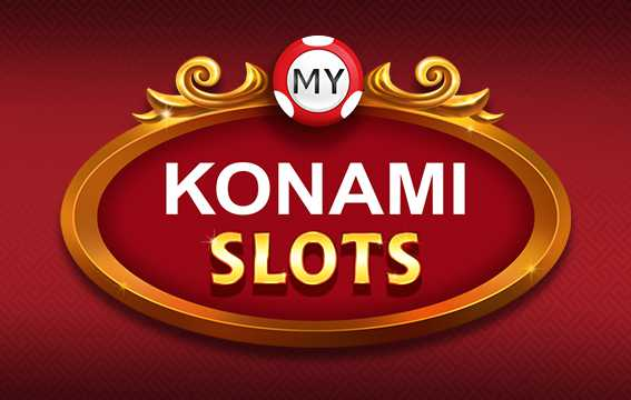 Image of my KONAMI Slots mobile app cover.