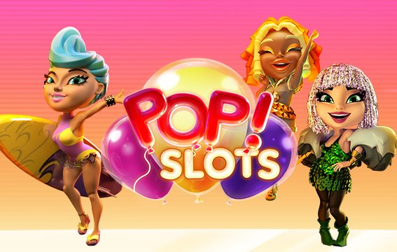 Image of POP! Slots mobile app cover.