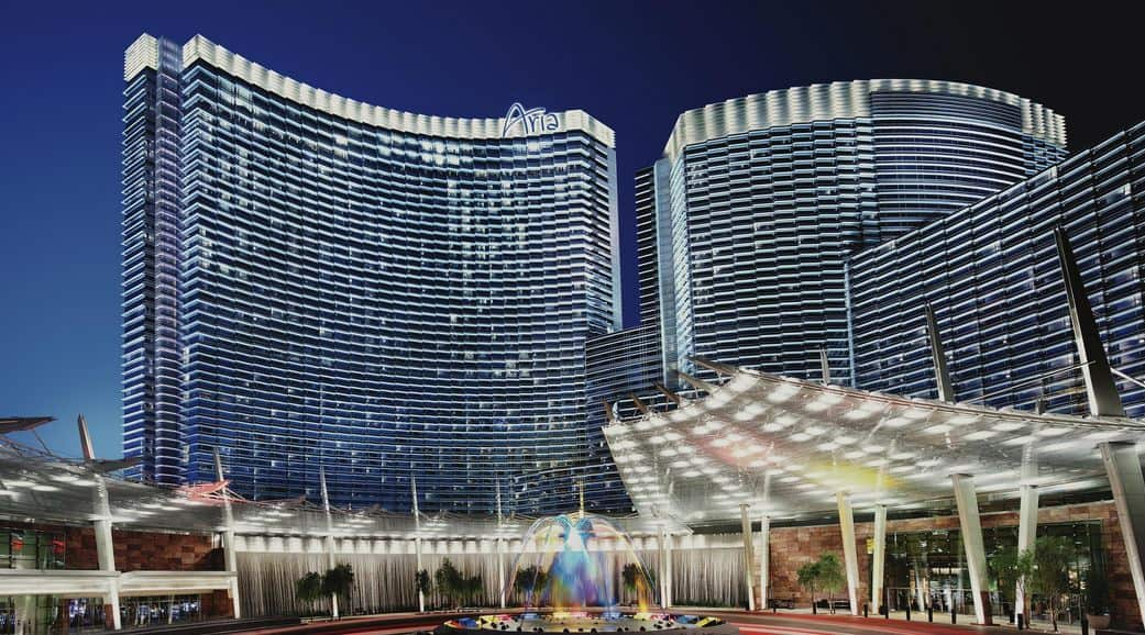 Image of Aria Hotel & Casino.