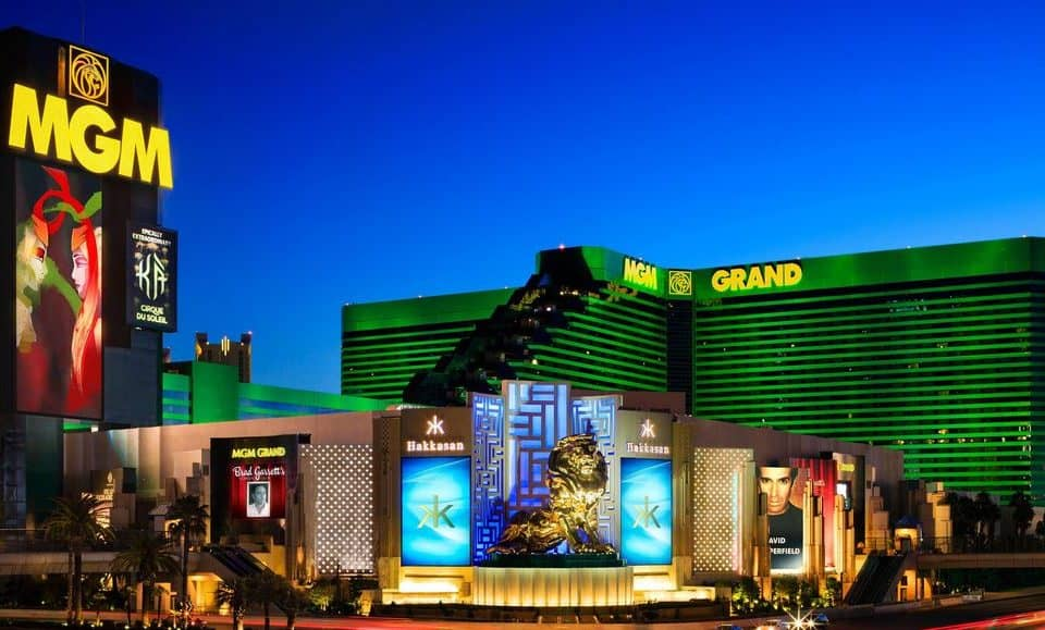 Image of MGM Grand Hotel & Casino.