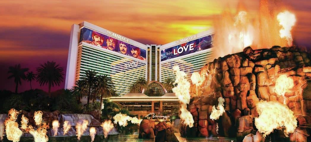 Image of Mirage Hotel & Casino.