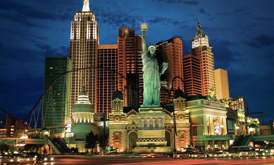 Image of New York New York Hotel & Casino.