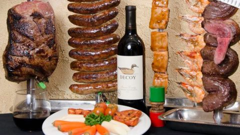 SURF & TURF RODIZIO DINNER FOR 2 or 4 /w DRINKS