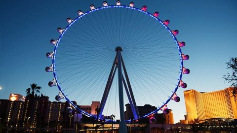 Two Daytime or Nighttime High Roller Tickets